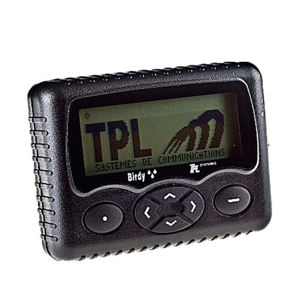 Picture of TPL Birdy WP Alphanumeric FLEX Pager